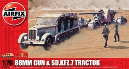 88mm Gun and Sd.Kfz7 Tractor - AIRFIX