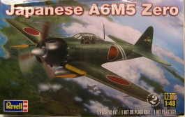 Aviao A6M5 Zero - Japanese Fighter - REVELL AMERICANA