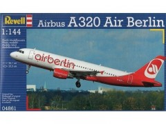 Aviao Airbus A-320 Air Berlin               04861 REVELL ALEMA