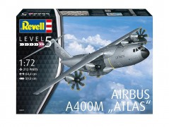 Aviao Airbus A-400M - ATLAS                          03929 - REVELL ALEMA