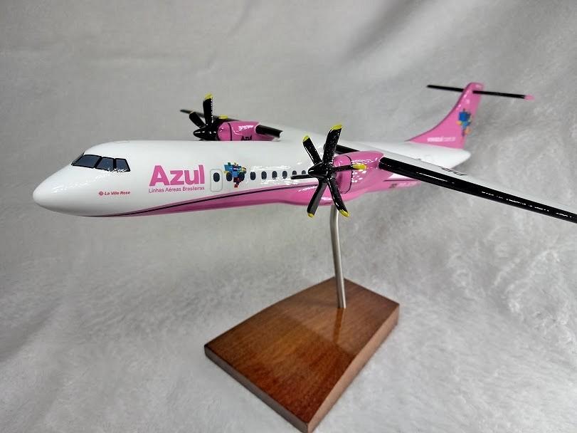 Rio Vista Chevy >> Aviao ATR-72-600 - Azul Linhas Aereas - Outubro Rosa ...
