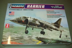 Aviao Bae Sea Harrier LINDBERG
