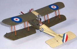 Aviao Biplano Royal Aircraft Factory BE2-C      02101 AIRFIX