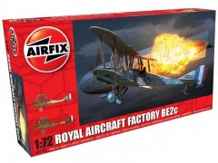 Aviao Biplano Royal Aircraft Factory BE2-C             02101 - AIRFIX