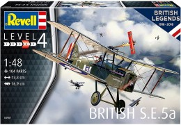 Aviao Biplano SE 5A - British Legends            03907 - REVELL