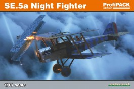 Aviao Biplano SE 5A Night Fighter - Profipack - EDUARD