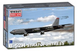 Aviao Boeing B-52 H Stratofortress USAF (Current Flying Vers MINICRAFT