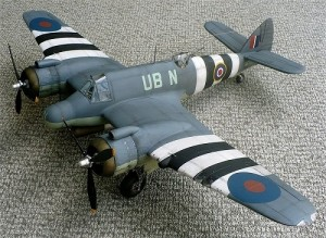 Aviao Bristol Beaufighter Mk.IF REVELL ALEMA