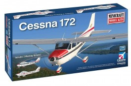 Avião Cessna 172 Civil Air Patrol - MINICRAFT MODEL KITS