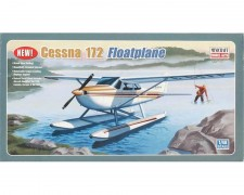 Aviao Cessna 172 Skyhawk - Floatplane - MINICRAFT MODEL KITS