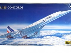 Avião Concorde - Air France                80445 - HELLER