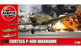 Aviao Curtiss P-40B Warhawk                            05130 - AIRFIX