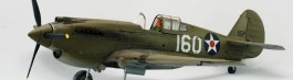 Aviao Curtiss P-40B Warhawk AIRFIX
