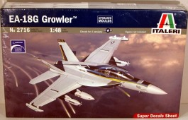 Aviao E/F-18G GROWLER - ITALERI