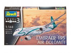Aviao EMBRAER 195 Air Dolomiti - REVELL ALEMA