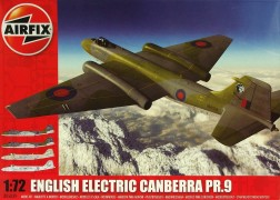 Aviao English Electric Canberra PR.9 AIRFIX