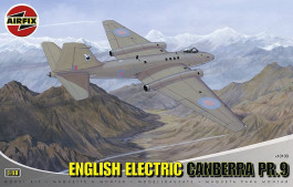 Aviao English Electric Canberra PR9                   010103 - AIRFIX