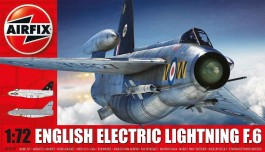 Aviao English Electric Lightning F6                 05042 - AIRFIX