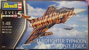 Aviao Eurofighter Typhoon Bronze Tiger REVELL ALEMA