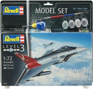 Aviao Eurofighter Typhoon Single Seater C/tintas, Pinceis e - REVELL