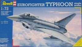 Aviao Eurofighter Typhoon Single Seater - REVELL ALEMA