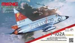 Aviao F-102A - CASE X - MENG