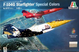 Aviao F-104G STARFIGHTER SPECIAL COLOR - ITALERI