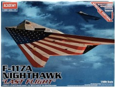 Avião F-117A Nighthawk - Last Flight - ACADEMY