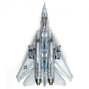 Avião F-14A Tomcat - VF-1 WOLFPACK - LIMITED EDITION ACADEMY