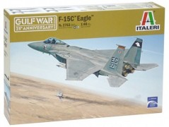 Aviao F-15 A/C Strike Eagle - Gulf War - 25 Years - ITALERI
