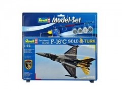Aviao F-16C SOLO TURK c/TINTAS, PINCEIS E COLA - REVELL ALEMA