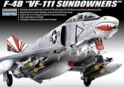Aviao F-4B VF-111 Sundowners - ACADEMY