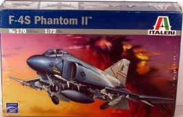 Aviao F-4S PHANTOM                                  0170 - ITALERI