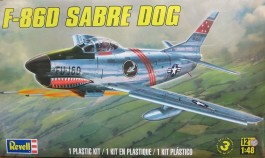 Aviao F-86D Sabre DOG - REVELL AMERICANA