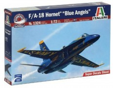 Aviao F/A 18 HORNET - Blue Angels                       1324 - ITALERI