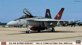 Aviao F/A18-E Super Hornet - VFA-31 TOMCATTERS 75th Special - HASEGAWA