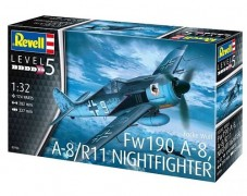 Aviao Focke Wulf Fw190A-8, A-8 / R11 Nightfighter - REVELL