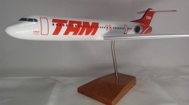 Aviao Fokker 100 - TAM - MAQUETE