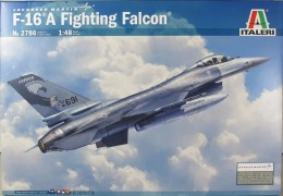 Aviao General Dynamics F-16A - Fighting Falcon          2786 - ITALERI