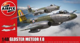 Aviao Gloster Meteor F8 British Jet Fighter - AIRFIX
