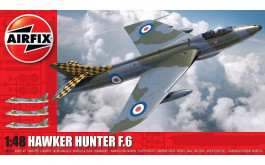 Aviao Hawker Hunter F.6                                09185 - AIRFIX