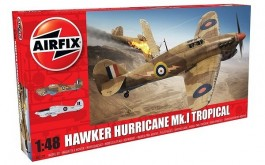 Aviao Hawker Hurricane Mk.I Tropical                   05129 - AIRFIX