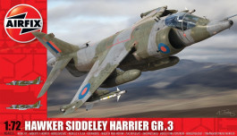 Aviao Hawker Siddeley Harrier AV-8A                    04055 - AIRFIX
