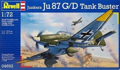 Aviao Junkers JU-87 G/D Tank Buster REVELL ALEMA