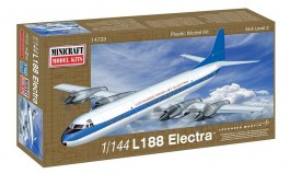 Aviao Lockheed L-188 Electra - Demonstrator - MINICRAFT MODEL KITS