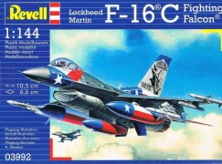 Aviao Lockheed Martin F-16C Fighting Falcon - REVELL ALEMA