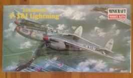 Avião Lockheed P-38J Lightning - MINICRAFT MODEL KITS