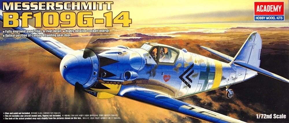 Avião Messerchmitt BF-109 G-14 12454 - ACADEMY » Kits -