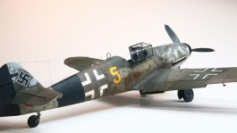 Aviao Messerchmitt Bf-109 G-6 Late and Early Version   04665 REVELL ALEMA