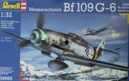 Aviao Messerchmitt Bf-109 G-6 Late and Early Version - REVELL ALEMA